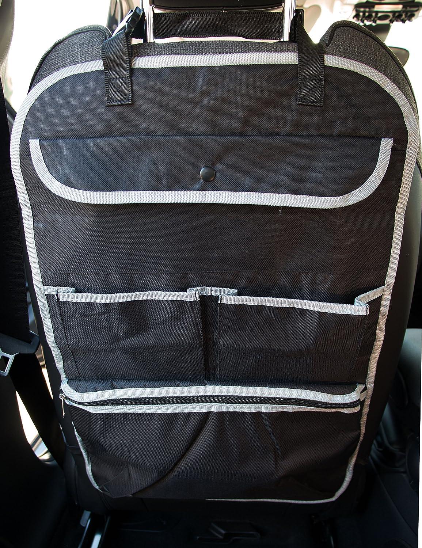 con tasca termica ZOLLNER24 2 organizer per l /´auto sullo schienale 64x41 cm
