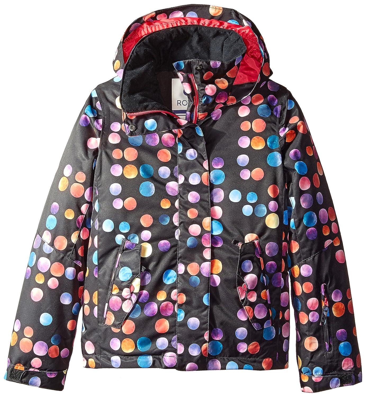 Roxy Big Girls' Jetty Snow Jacket Cosmic Dots 16/XX-Large Roxy Children's Apparel ERGTJ03004