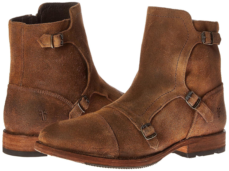 FRYE Mens Ethan Triple Monk Boot