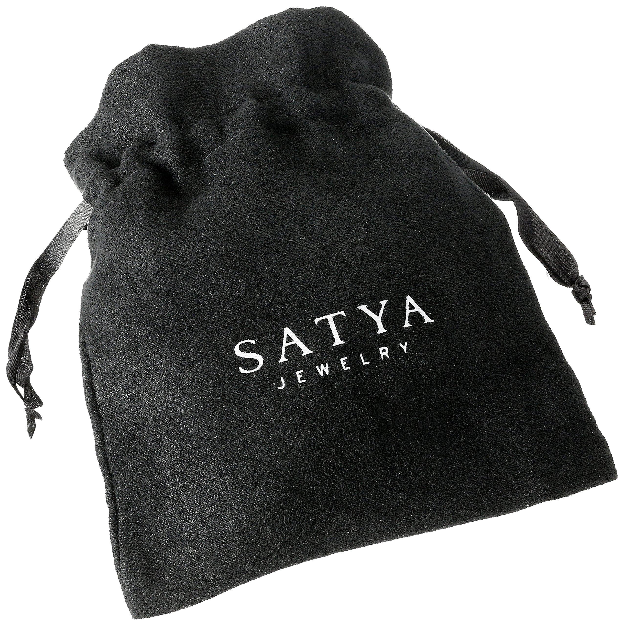 Satya Jewelry Freshwater Pearl Om Mandala Bracelet Set by Satya Jewelry (Image #3)