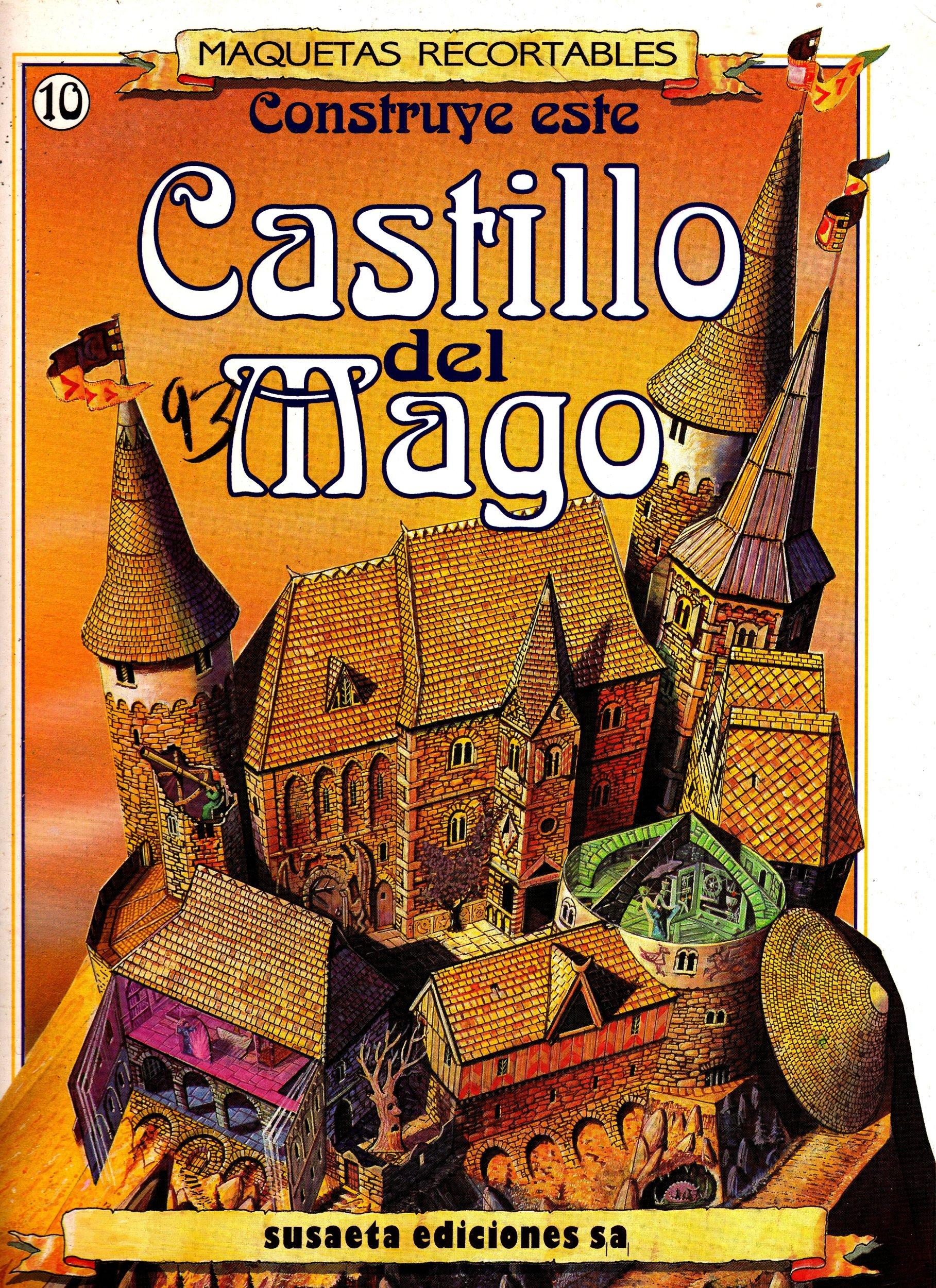 Construye este Castillo del mago Maquetas Recortables ...