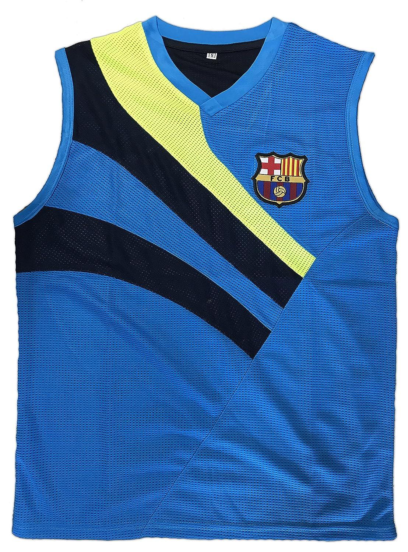 new style f0dc5 b1b43 Barcelona Light Blue Soccer Jersey Men (Large, Light Blue ...