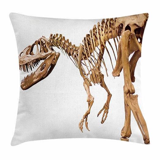 Dinosaurio manta almohada Funda de cojín por Ambesonne ...