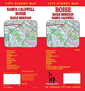 Folded Map: Boise, Nampa and Caldwell Street Map (Rand Mcnally