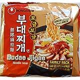 Nongshim Budae Jjigae Noodle Soup, 4.48 Ounce Unit (Pack of 4)