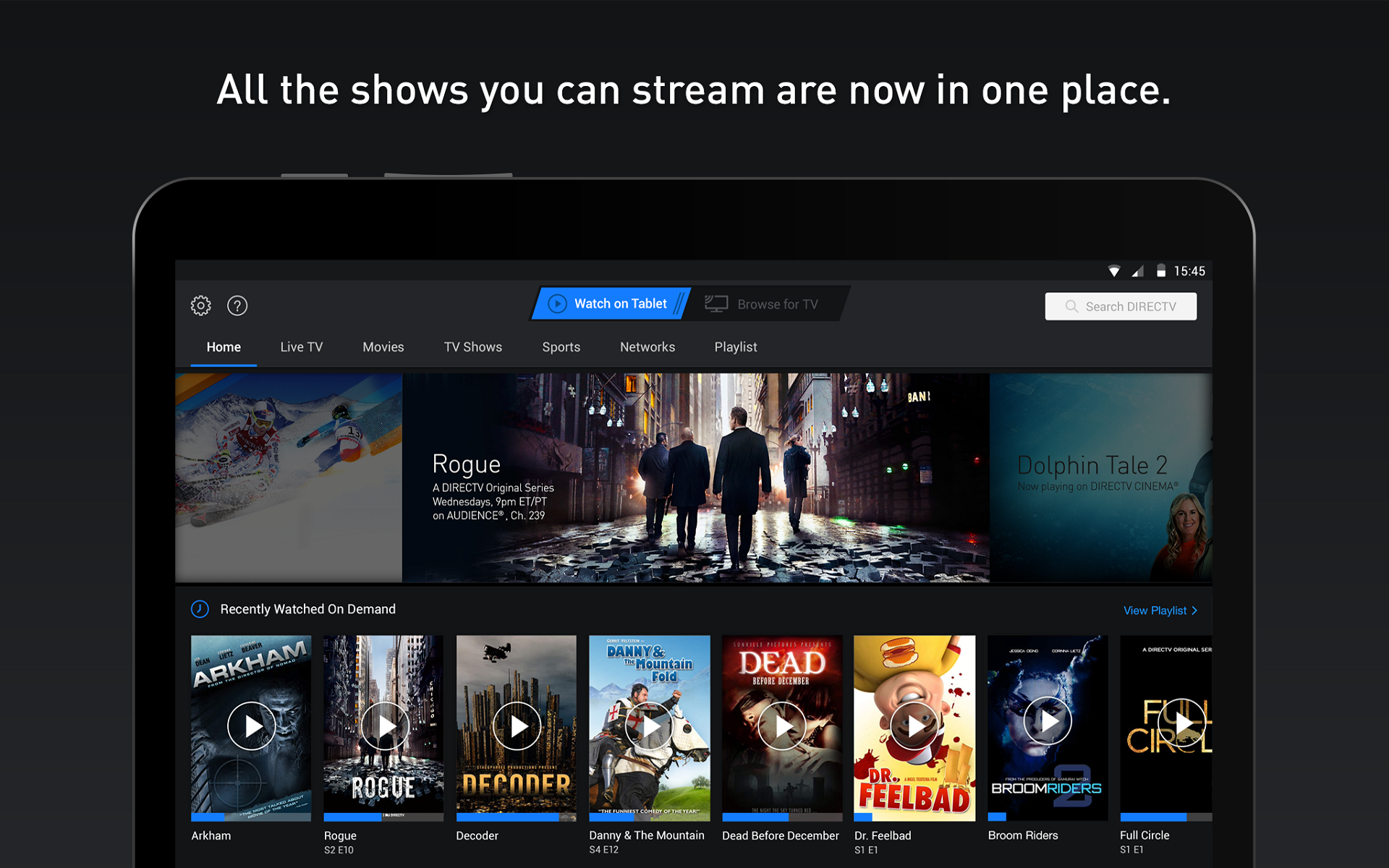 Amazon.com: DIRECTV for Fire Tablets: Appstore for Android