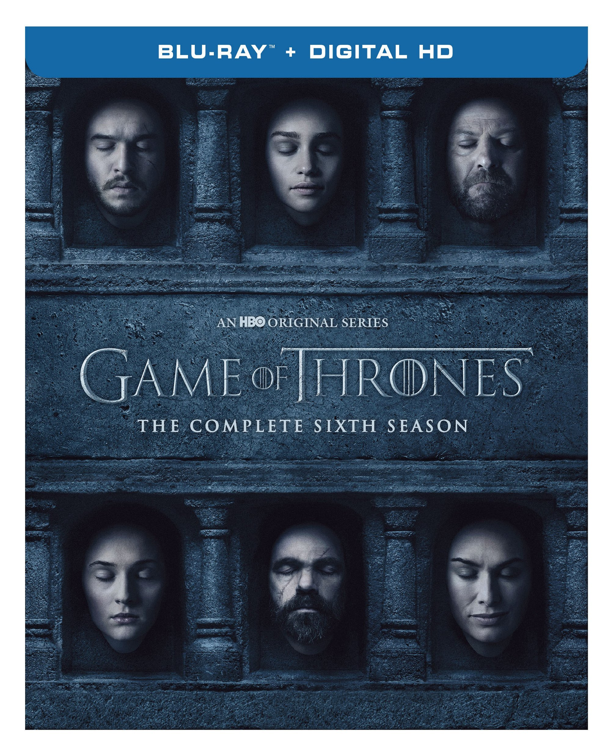 Blu-ray : Game of Thrones: The Complete Sixth Season (Ultraviolet Digital Copy, Slipsleeve Packaging, Digipack Packaging, Digitally Mastered in HD)