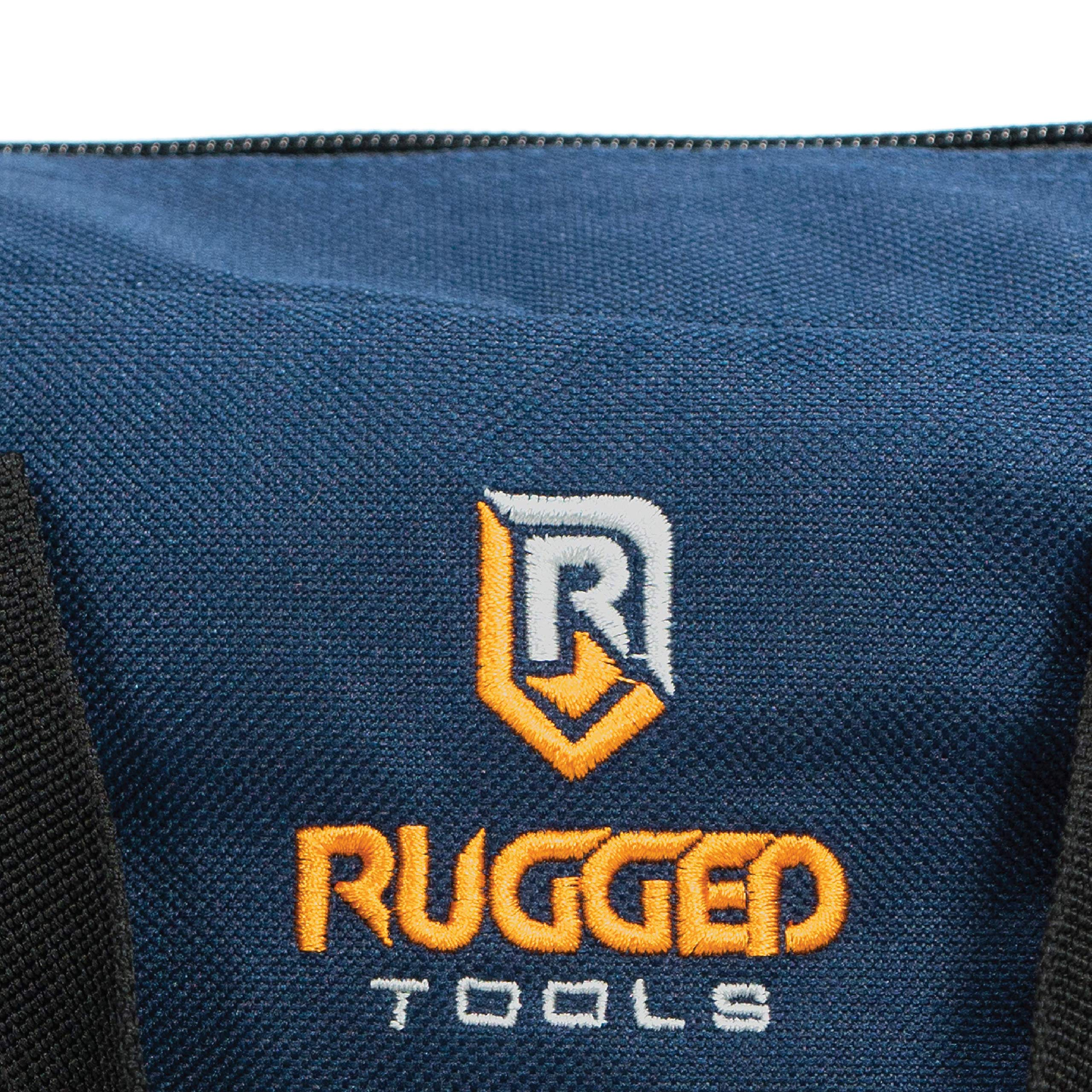 Rugged Tools Tool Bag Combo - Includes 1 Small & 1 Medium Toolbag - Organizer Tote Bags for Electrician, Plumbing, Gardening, HVAC & More by Rugged Tools (Image #8)