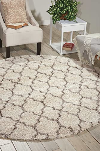 Nourison Amore Decorative Area Rug, 3 11 x 3 11 , Cream