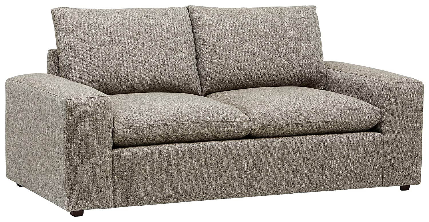 Stone & Beam Hoffman Down-Filled Performance Fabric Loveseat Sofa Couch,  79\
