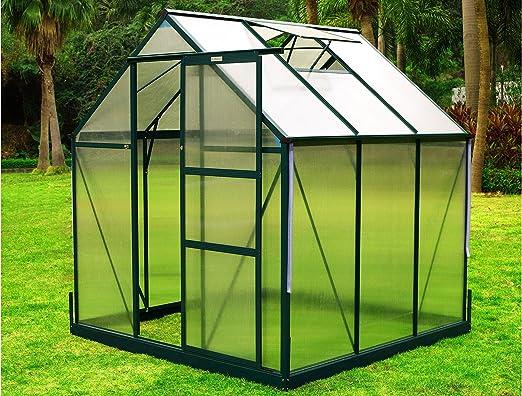 OUTFLEXX Invernadero, Aluminio: Amazon.es: Jardín
