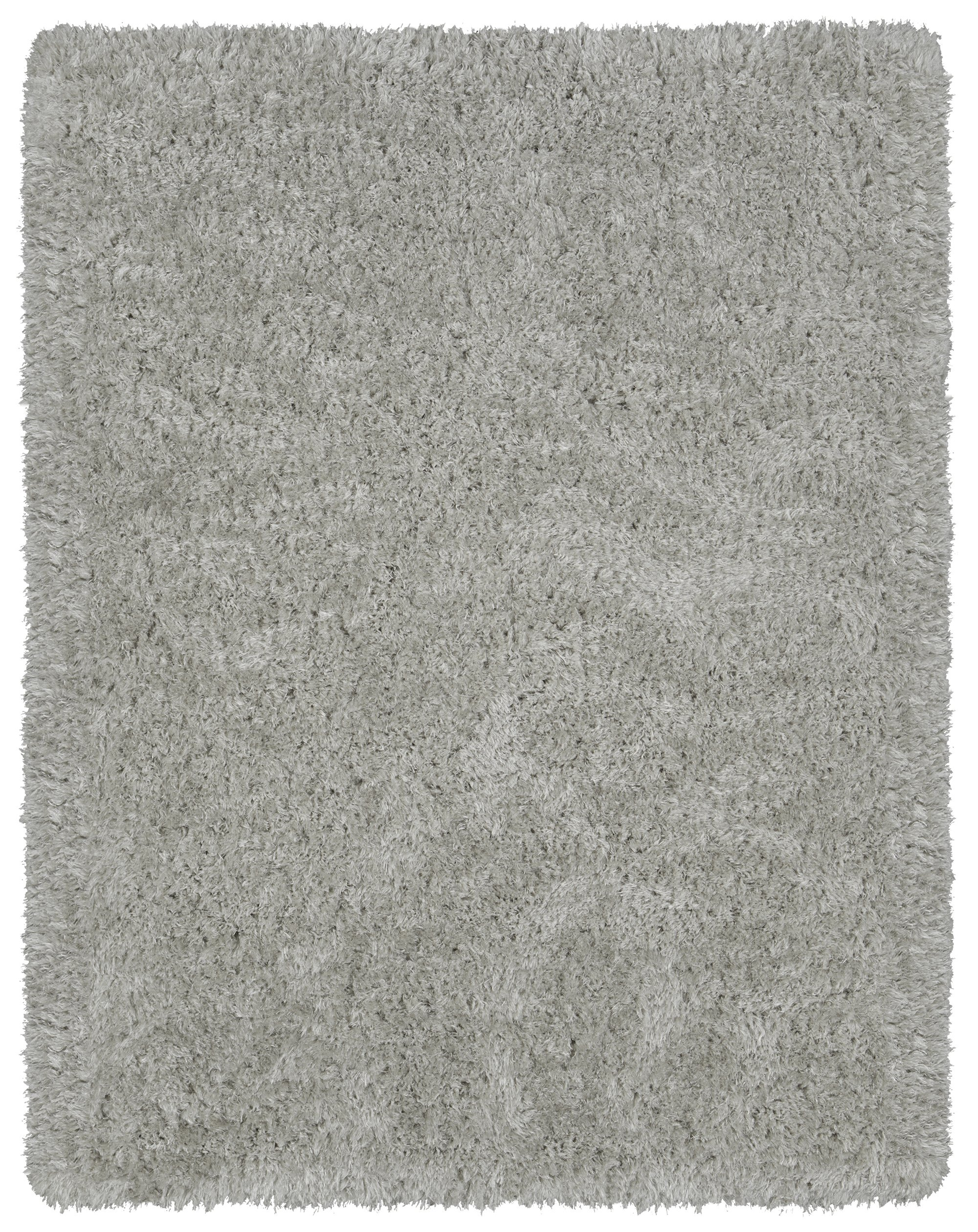 Ottomanson Flokati Collection Faux Sheepskin Shag Area Rug, 5'3 X 7', Grey