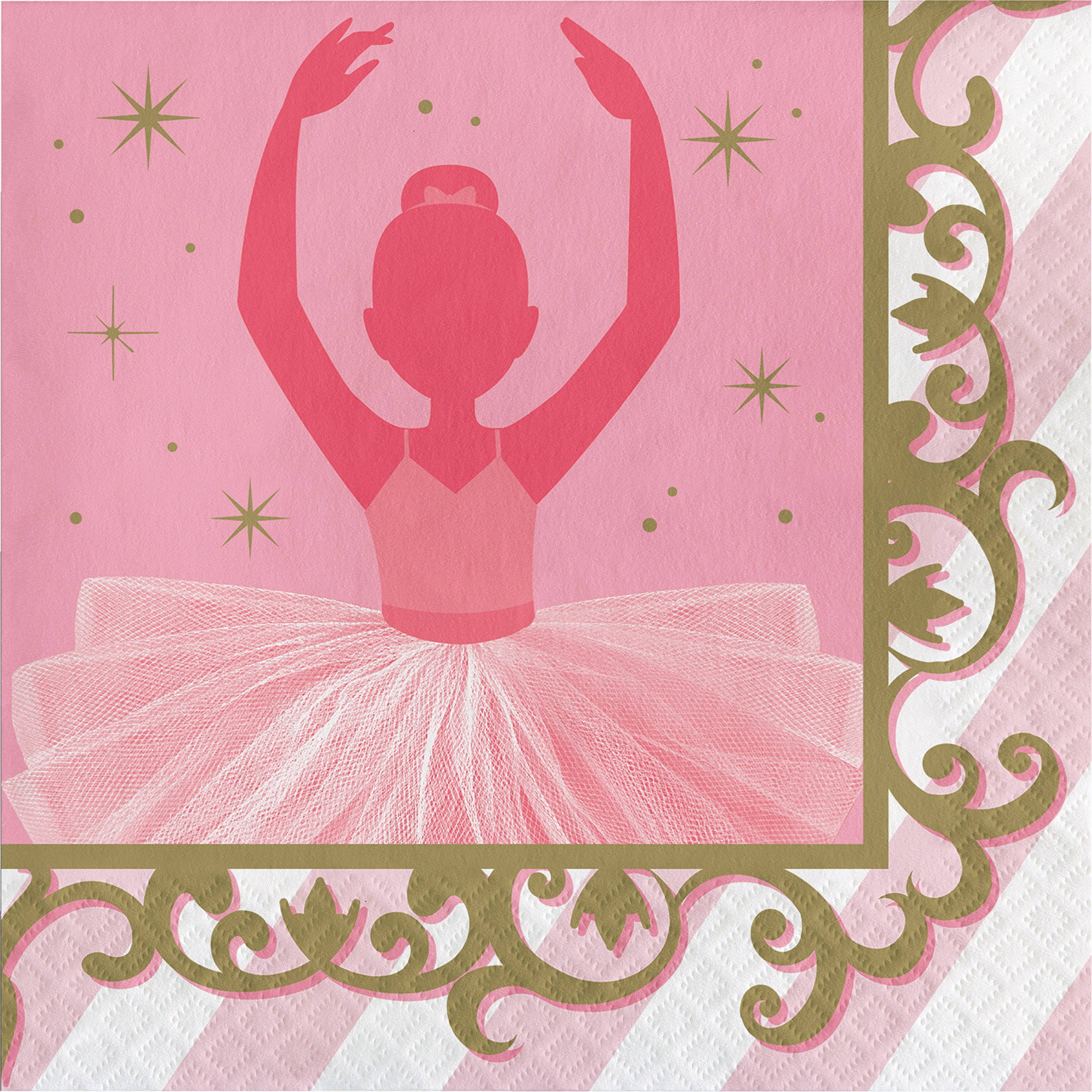 Ballet Napkins, 48 ct by Creative Converting