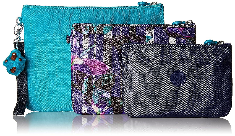 Kipling K12415, Estuches Mujer, Pack de 3 Multicolor (Blue Purple C) 28x21.5x1 cm (W x H x L)