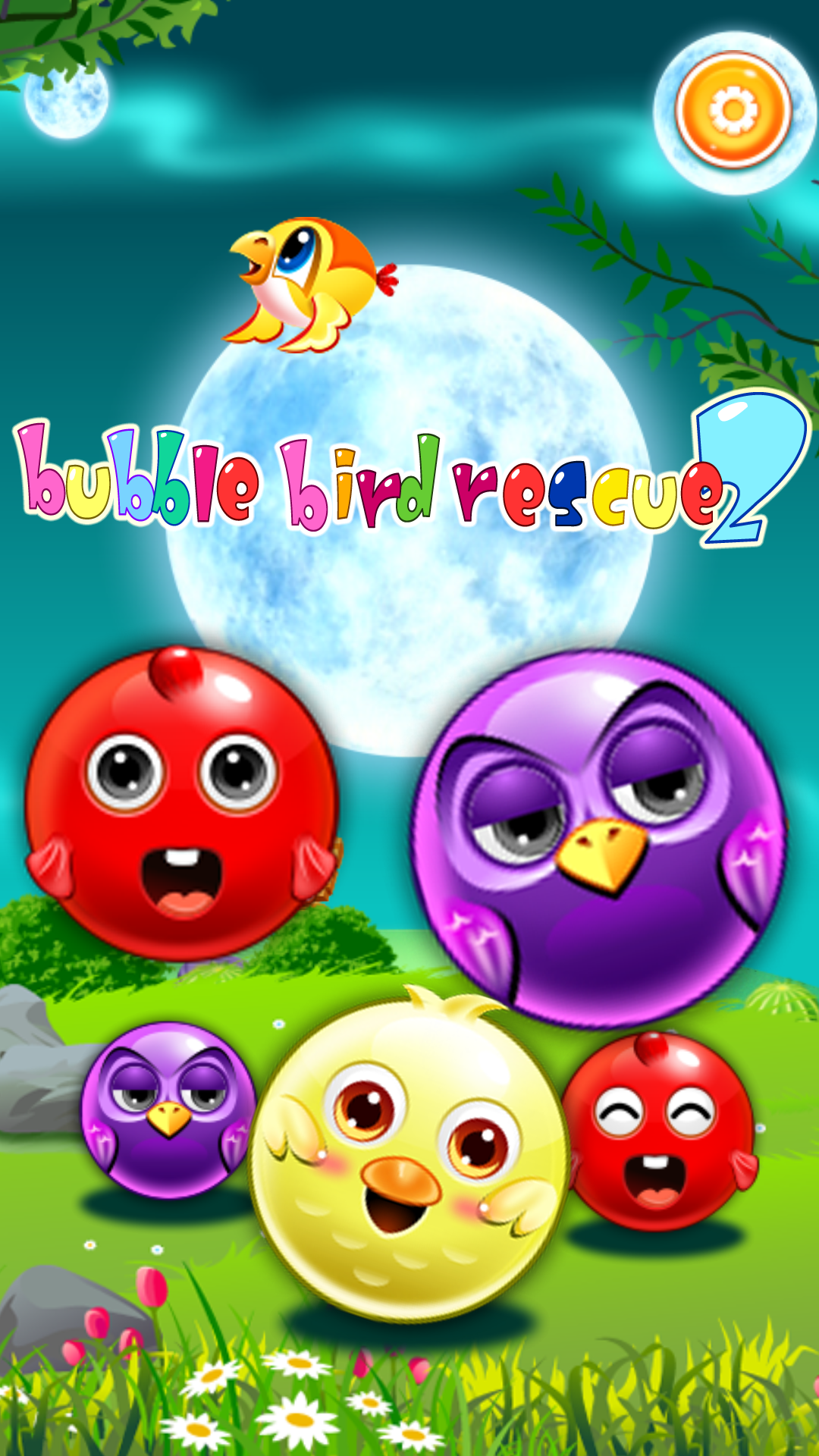 Bubble Bird Rescue