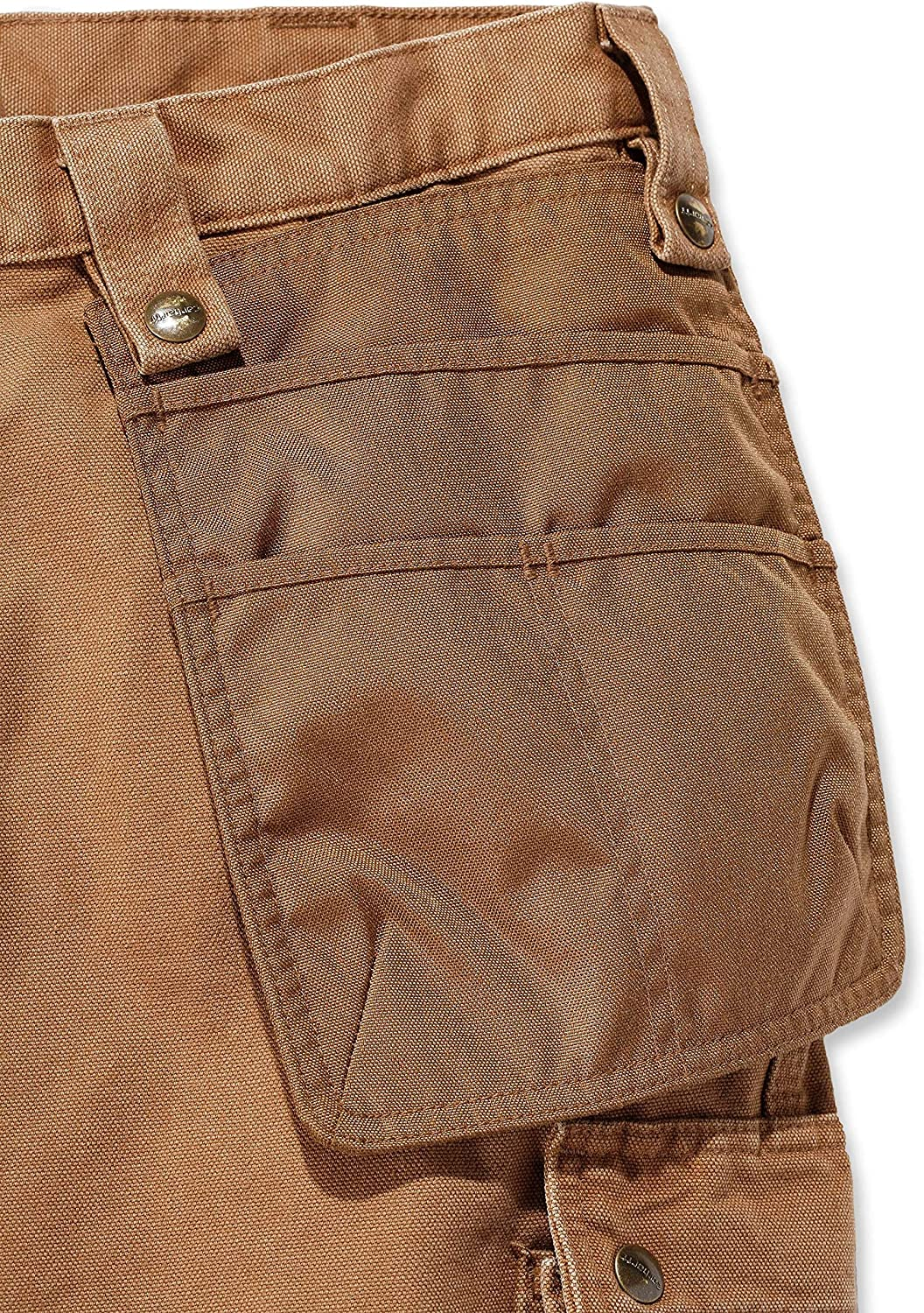 Carhartt Mens Washed Duck Multipocket Durable Cargo Pants Trousers Carhartt Brown