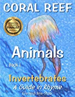Coral Reef Animals Book 1: Invertebrates (English