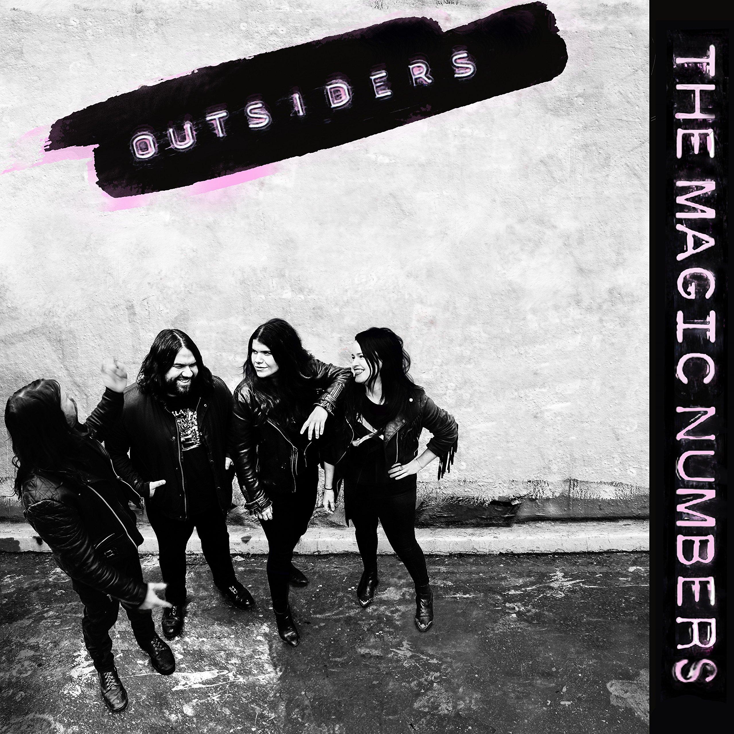 Vinilo : The Magic Numbers - Outsiders (LP Vinyl)