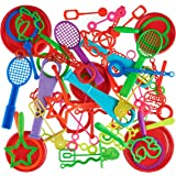 Bubble Wand Assortment (50 Peices) Summer Fun Outdoors Activity
