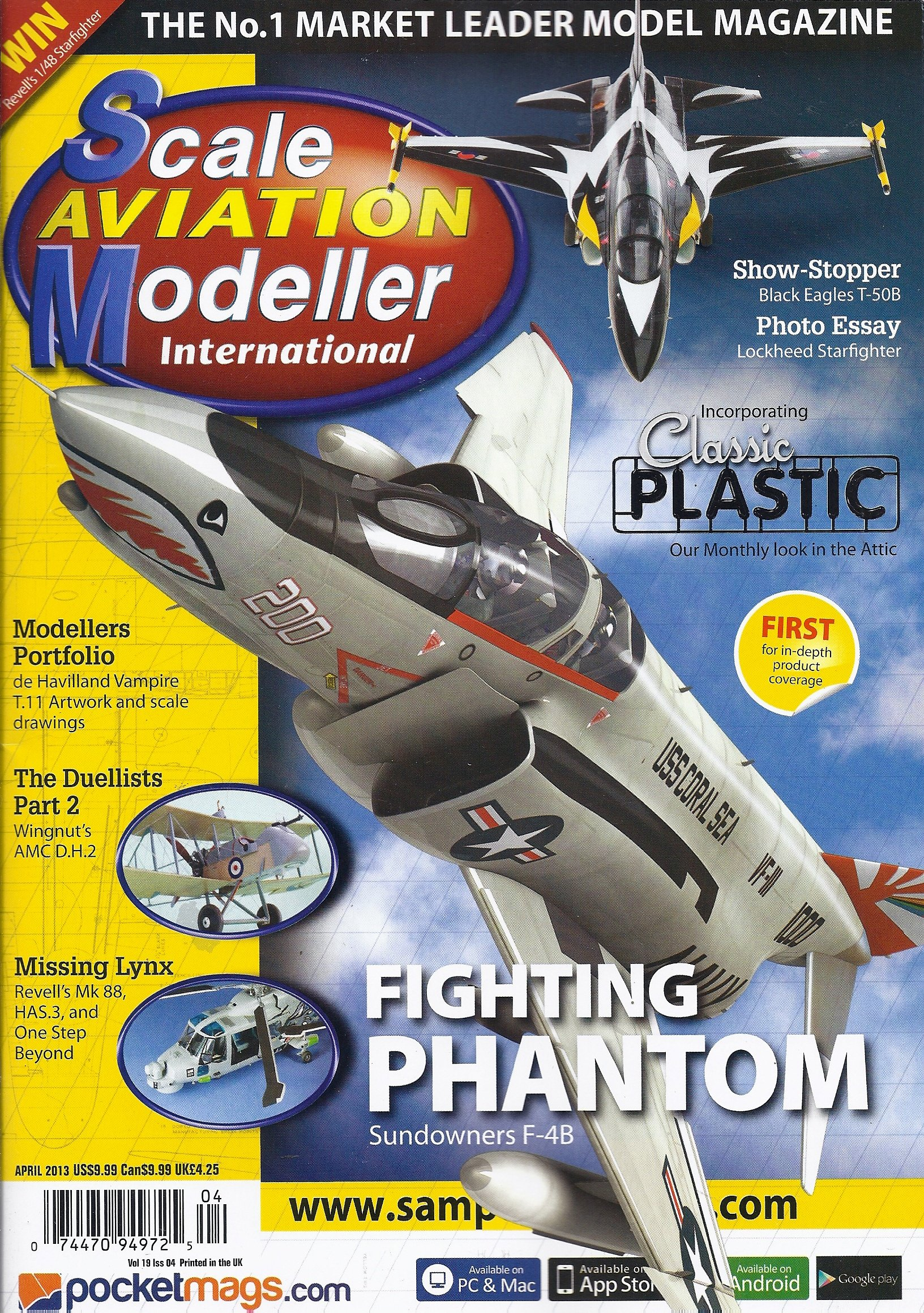 Download Scale Aviation Modeller International (April 2013) Text fb2 ebook
