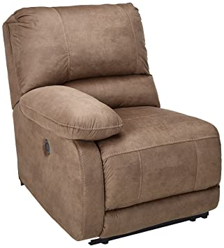 Swell Ashley Furniture Signature Design Seamus Left Arm Facing Recliner 1 Touch Powered Reclining Contemporary Taupe Lamtechconsult Wood Chair Design Ideas Lamtechconsultcom