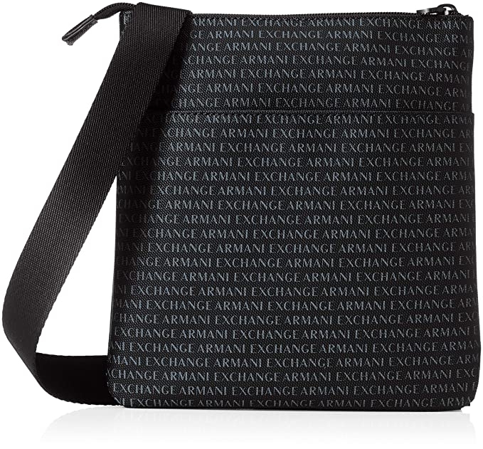 2765855e7c09 Armani Exchange 952139-CC012-BORSA-MESSENGER Bag Men UNI  Amazon.co ...