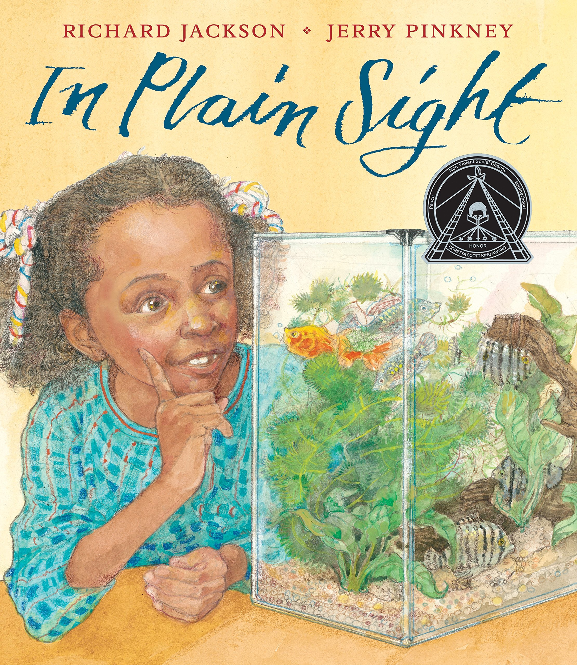 In Plain Sight: A Game: Richard Jackson, Jerry Pinkney: 9781626722552:  Amazon.com: Books