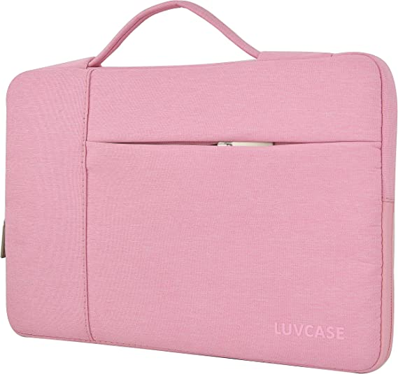 Pink Dahlia Flower Laptop Sleeve Case 15 15.6 Inch Briefcase Cover Protective Notebook Laptop Bag