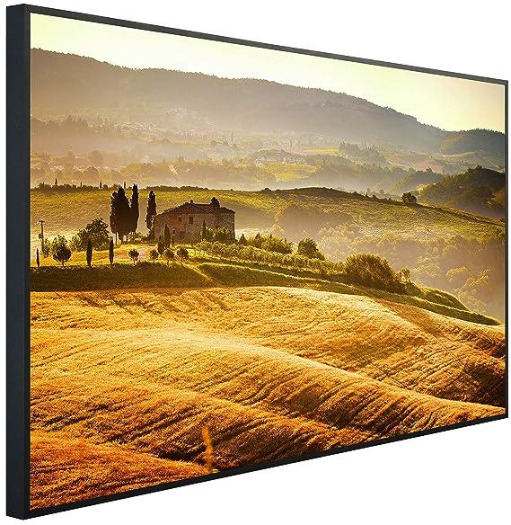 InfrarotPro | Infrarotheizung 600 Watt | Bildheizung 100x60x3 cm | Made in Germany | Geprüfte Technik | Ultra-HD Auflösung |