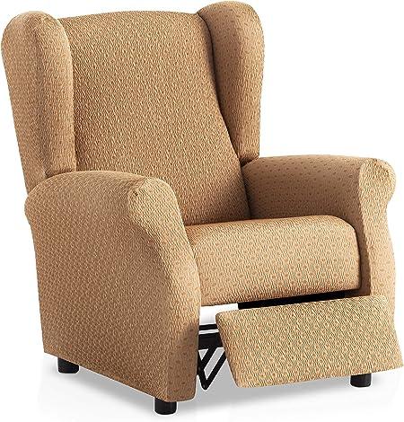 Funda de sillón Relax elástica Olivia - Color Beige - Tamaño ...