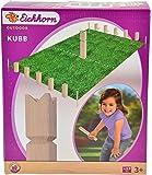 Eichhorn 100004541 - Outdoor Schach - aus Holz - mit Beutel - Höhe: 30cm