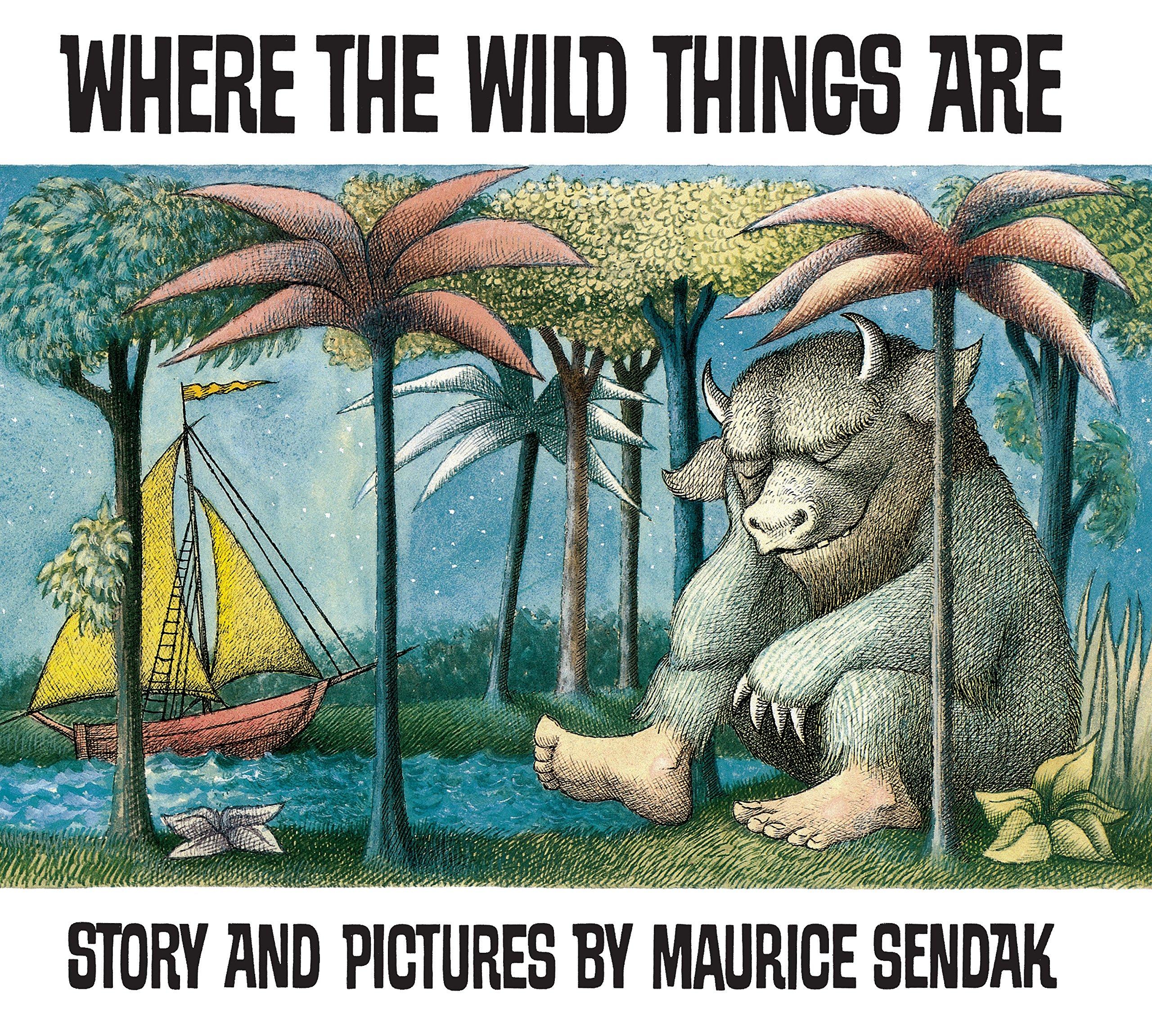 Where The Wild Things Are: Amazon.co.uk: Sendak, Maurice, Sendak ...