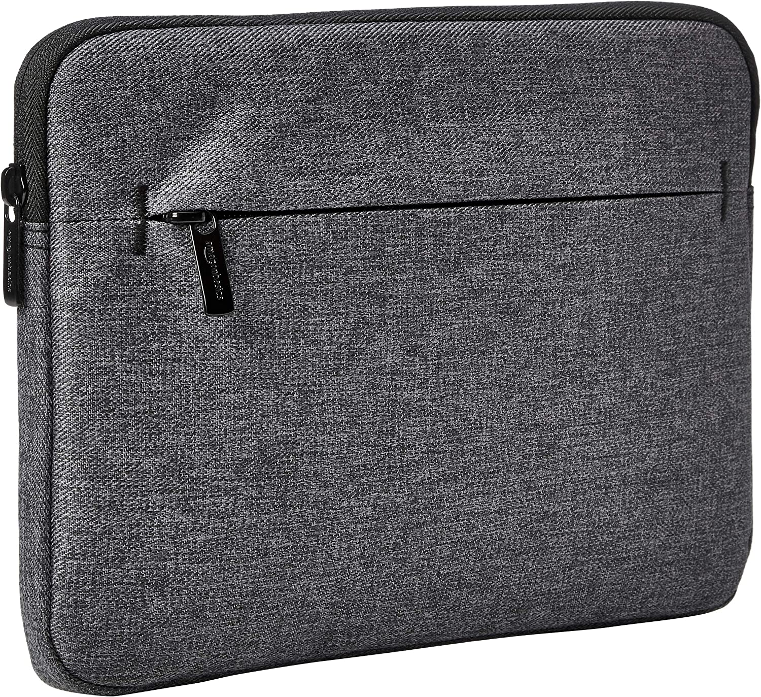 AmazonBasics iPad Tablet Sleeve Case with Front Pocket, 10 Inch, Grey