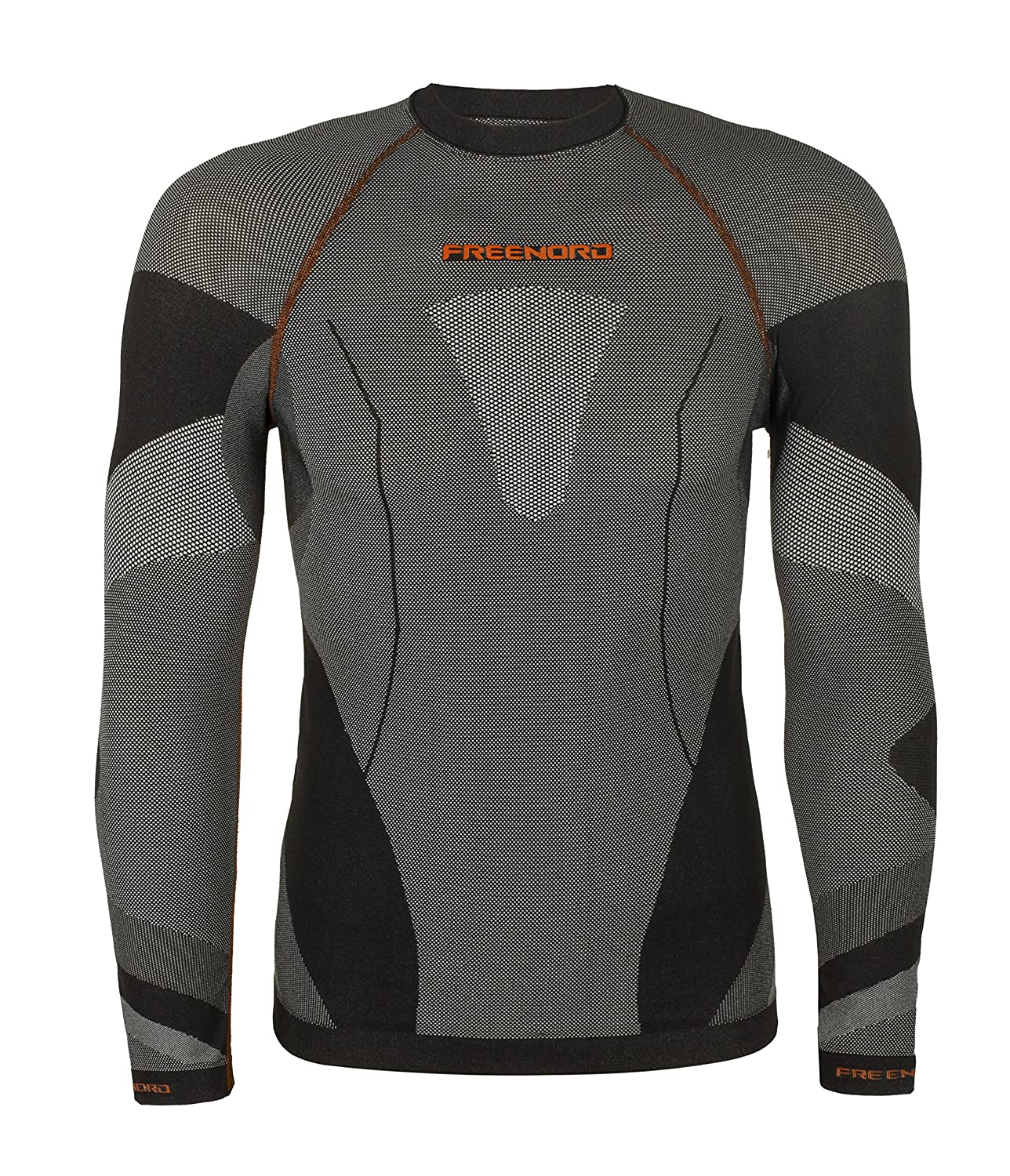 Freenord DRYTECH Basic Funktionswäsche Thermoaktiv Atmungsaktiv Base Layer Unterhemd Langarm