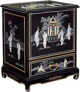 Amazoncom Oriental Furniture Claw Foot Coffee Table Black