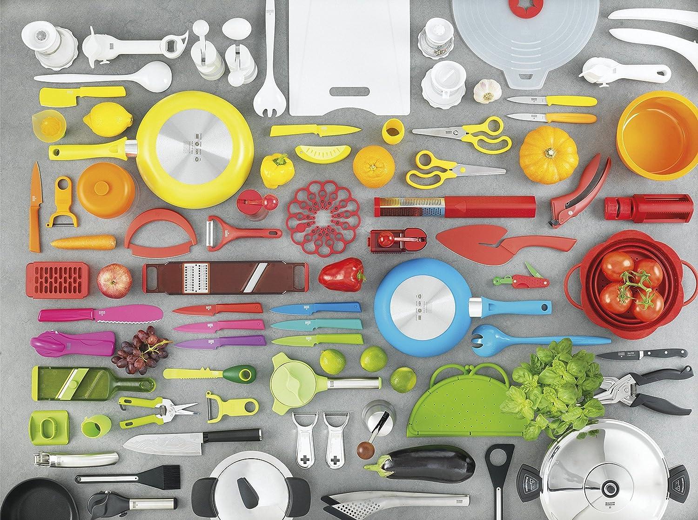 per Julienne Verde//Arancione Kuhn Rikon Veggie Affettaverdure a Spirale 20400