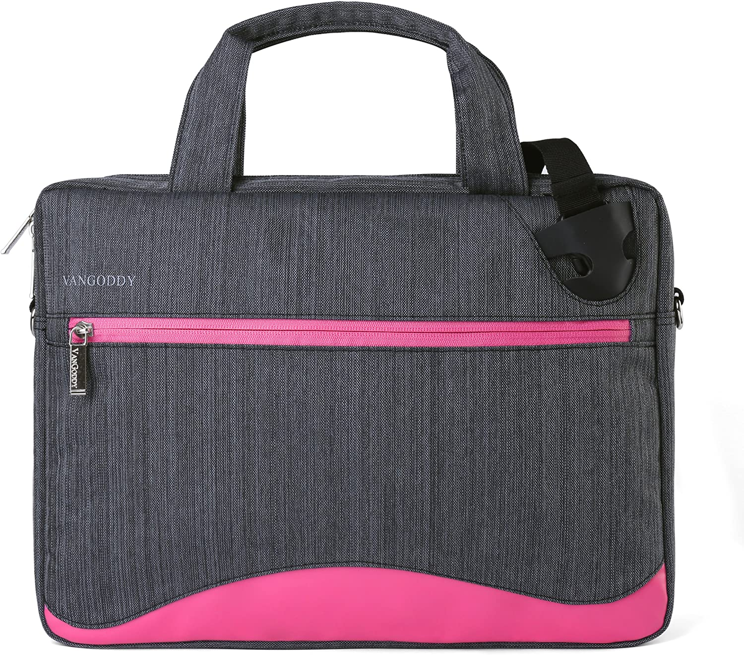 Slim Pink Anti-Theft Laptop Messenger Bag 14 15.6 inch for Dell Latitude, Inspiron, Precision, XPS, Vostro, G3 G5 G7