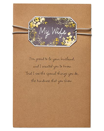 Amazon American Greetings Wonderful Birthday Card For Wife