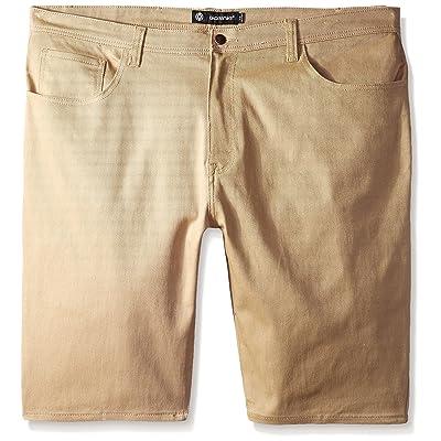 Akademiks Men's Shady Stretch Shorts: Clothing