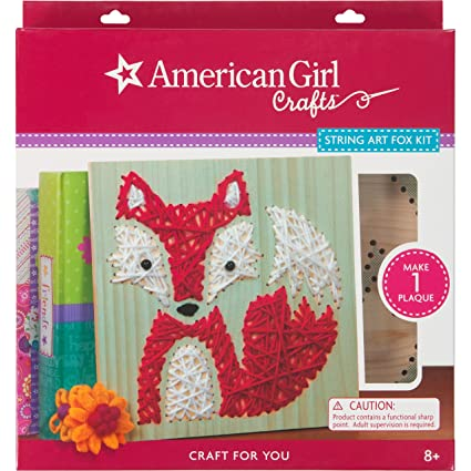Amazon Com American Girl Crafts Fox Diy Room Decor Craft