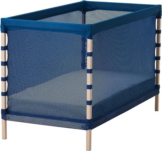 Zigzag Trading Ltd IKEA FLITIG - Cuna Haya/Azul Medio: Amazon ...