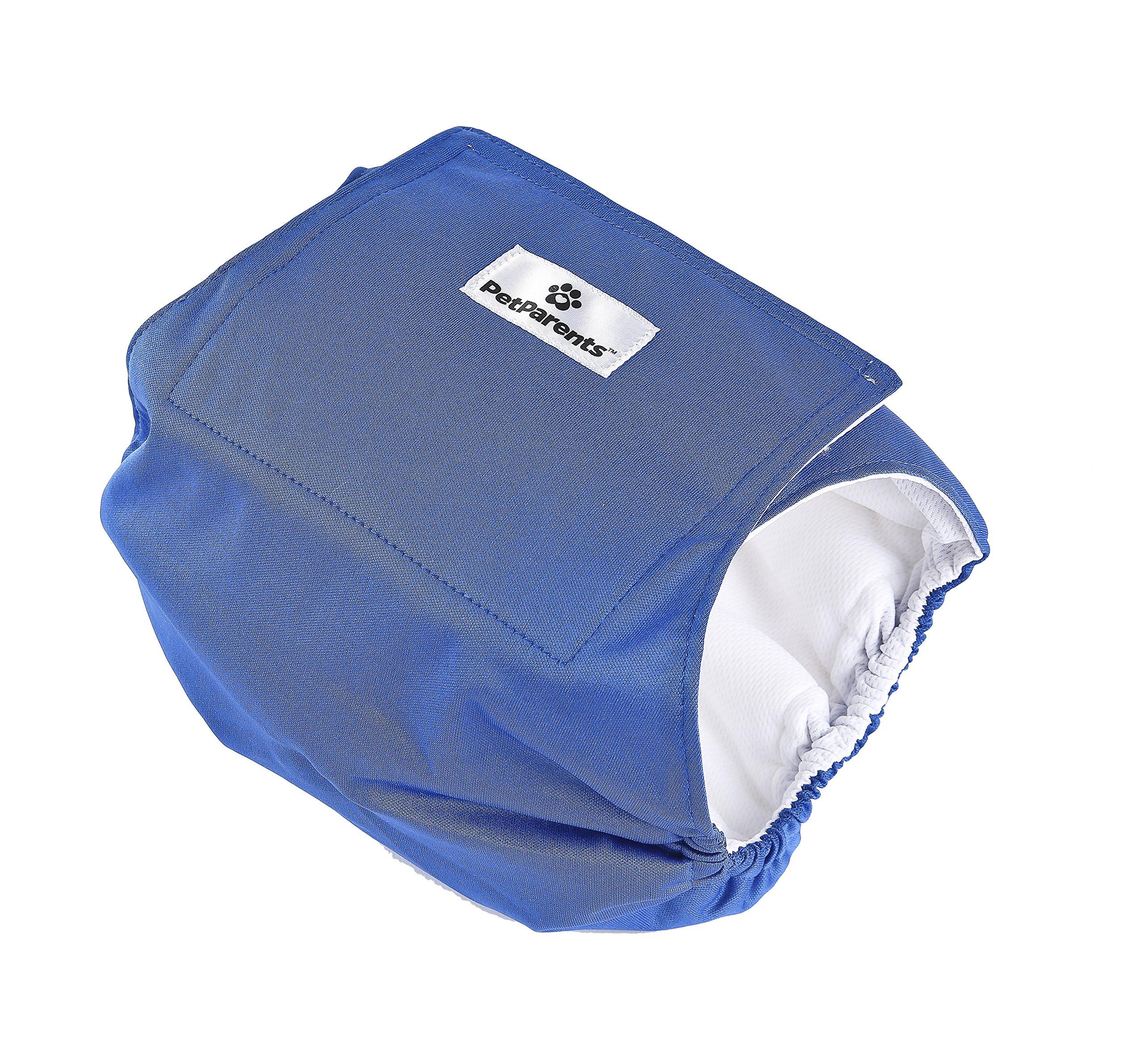 Pet Parents Premium Washable Dog Belly Band (3pack) of Male Dog Diapers, Color: Gentlemen, Size: Medium Dog Wraps by Pet Parents (Image #3)