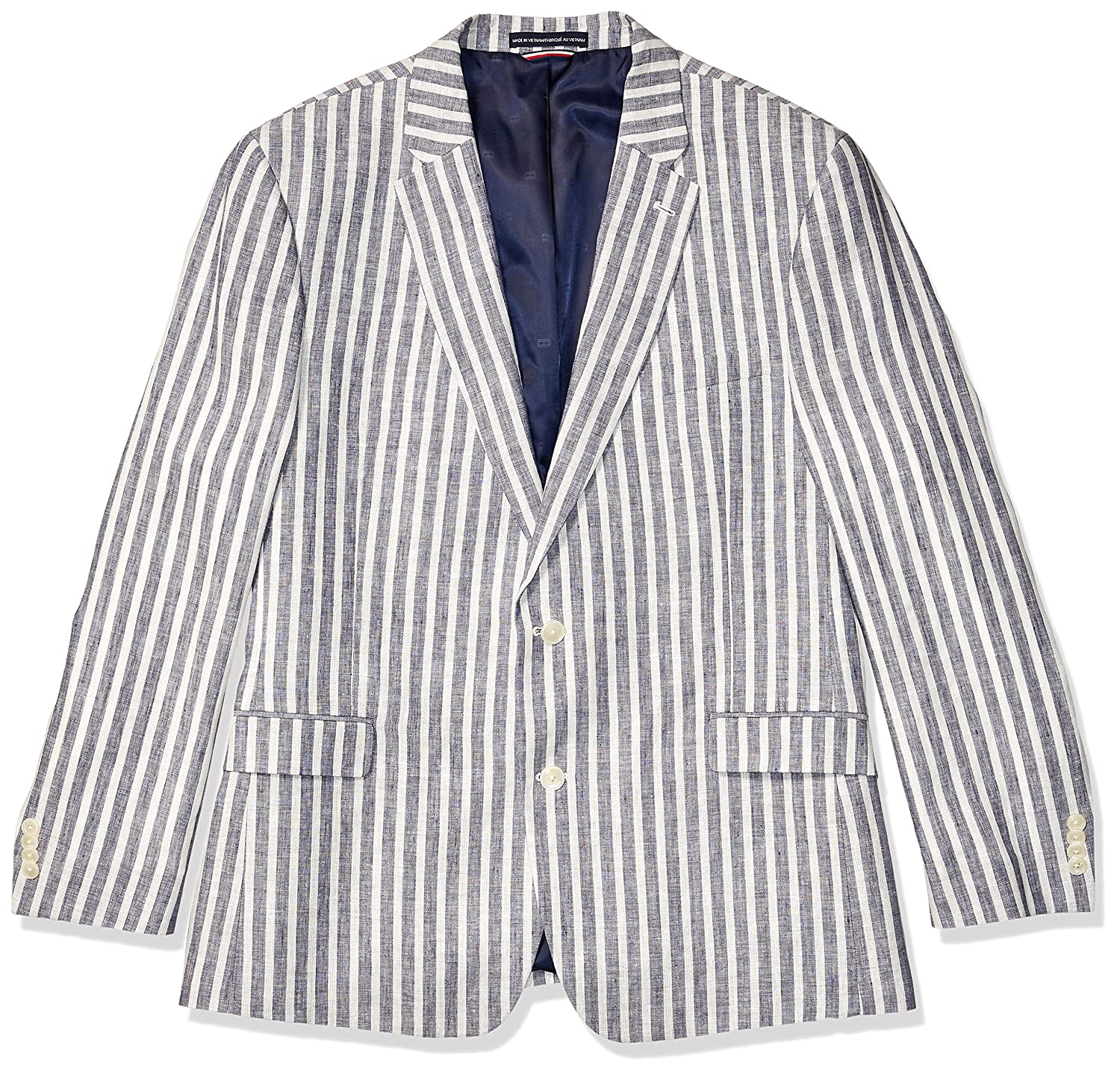 Men's Vintage Style Suits, Classic Suits Tommy Hilfiger Mens Modern Fit Stretch Comfort Blazer $122.54 AT vintagedancer.com