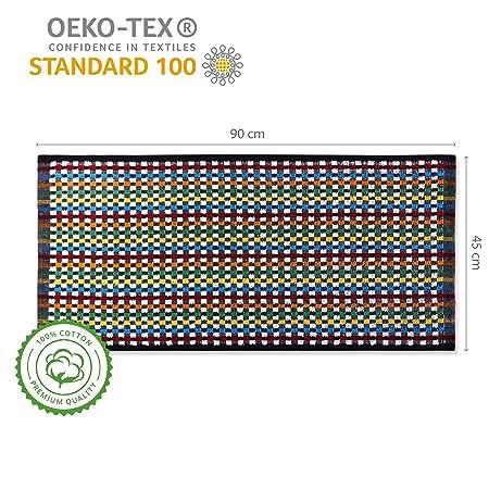 Lumaland Paños de Cocina Serie Miami 6 Piezas en Seis Colores Diferentes 100% algodón 45 x 90 cm: Amazon.es: Hogar