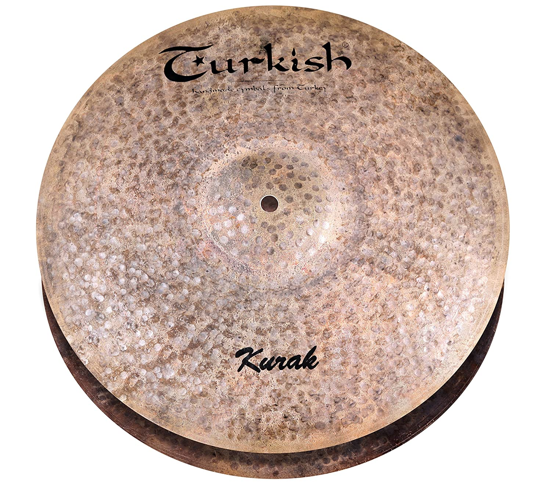 Turkish Cymbals Custom Series 14-inch Kurak Hi-Hat * K-H14 B072TNKQVF
