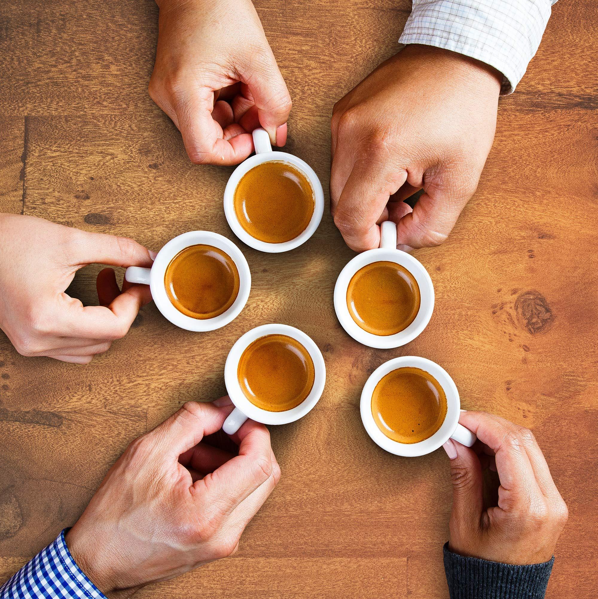 Café La Llave Espresso Capsules, Intensity 11 (80 Pods) Compatible with Nespresso OriginalLine Machines, Single Cup Coffee by Cafe La Llave (Image #10)