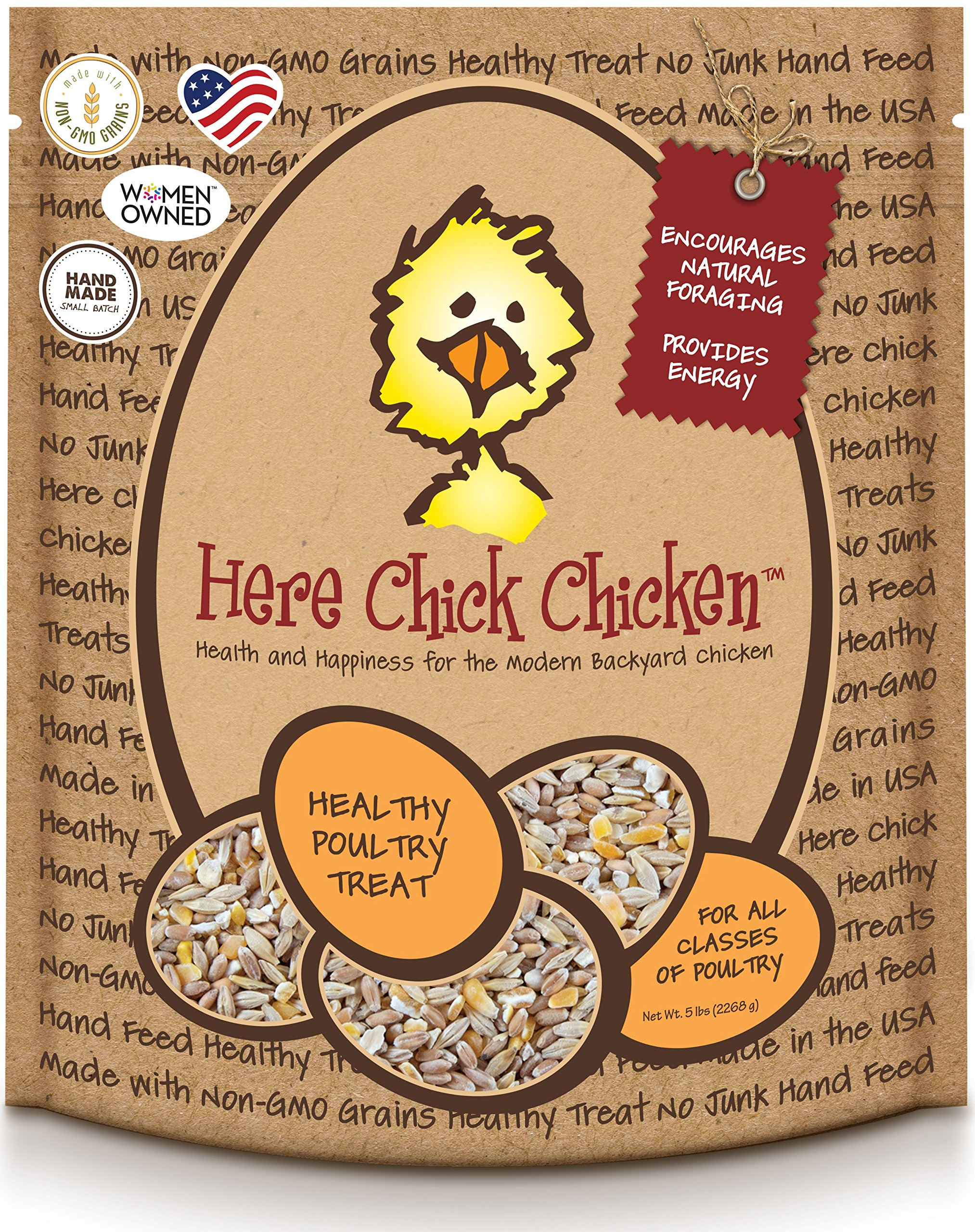 Treats for Chickens Here Chick Chicken Treat, 5-Pound