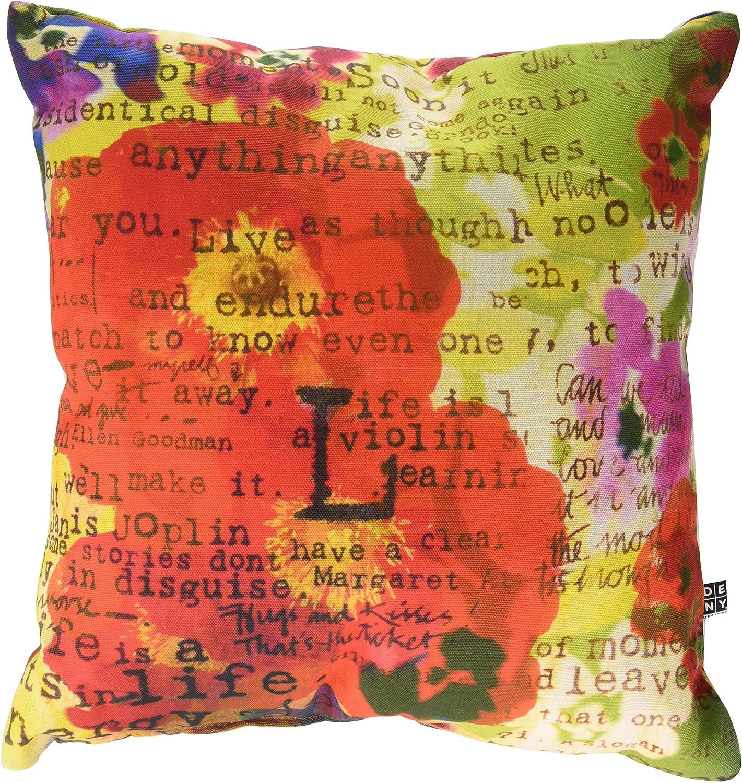 Deny Designs Irena Orlov Poppy Poetry 3 Throw Pillow, 18 x 18