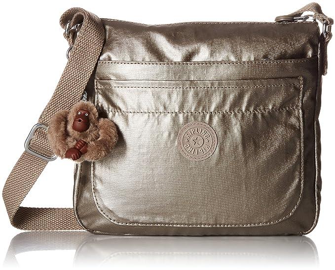 8c52356c6 Kipling Sebastian Printed Crossbody Bag, Luscflrwht: Kipling: Amazon ...