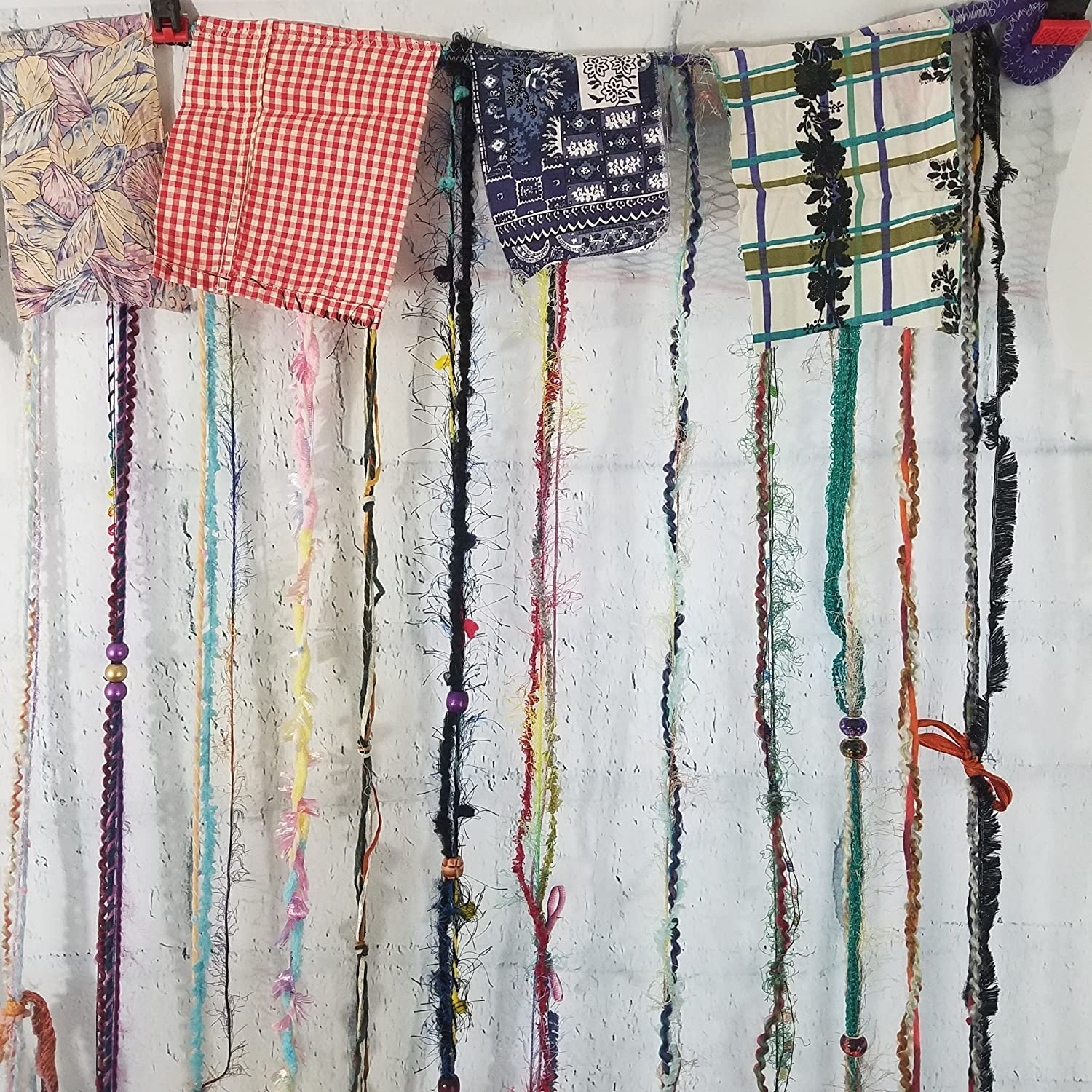 Amazoncom Hippie Gypsy Hanging Beaded Curtain, Room Divider, Door Curtain,